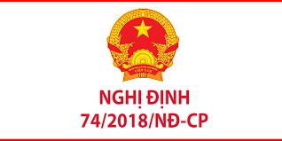 Nghị định số 74/2018/NĐ-CP của Chính phủ