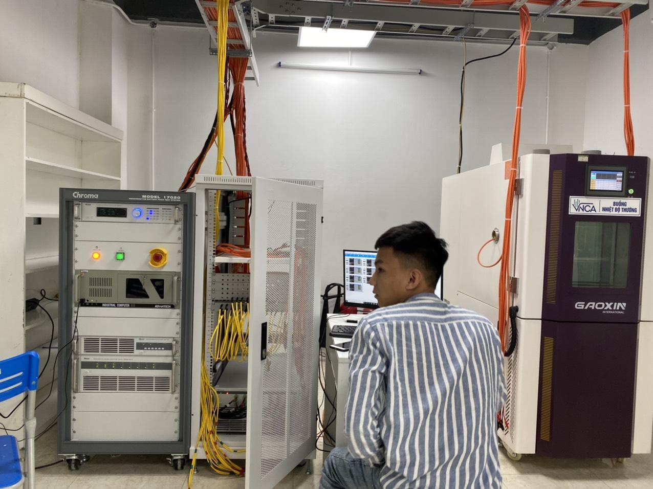Phòng thử nghiệm pin VNCA được Bộ TT&TT chỉ định, chính thức cung cấp dịch vụ thử nghiệm pin điện thoại, máy tính bảng, máy tính xách tay